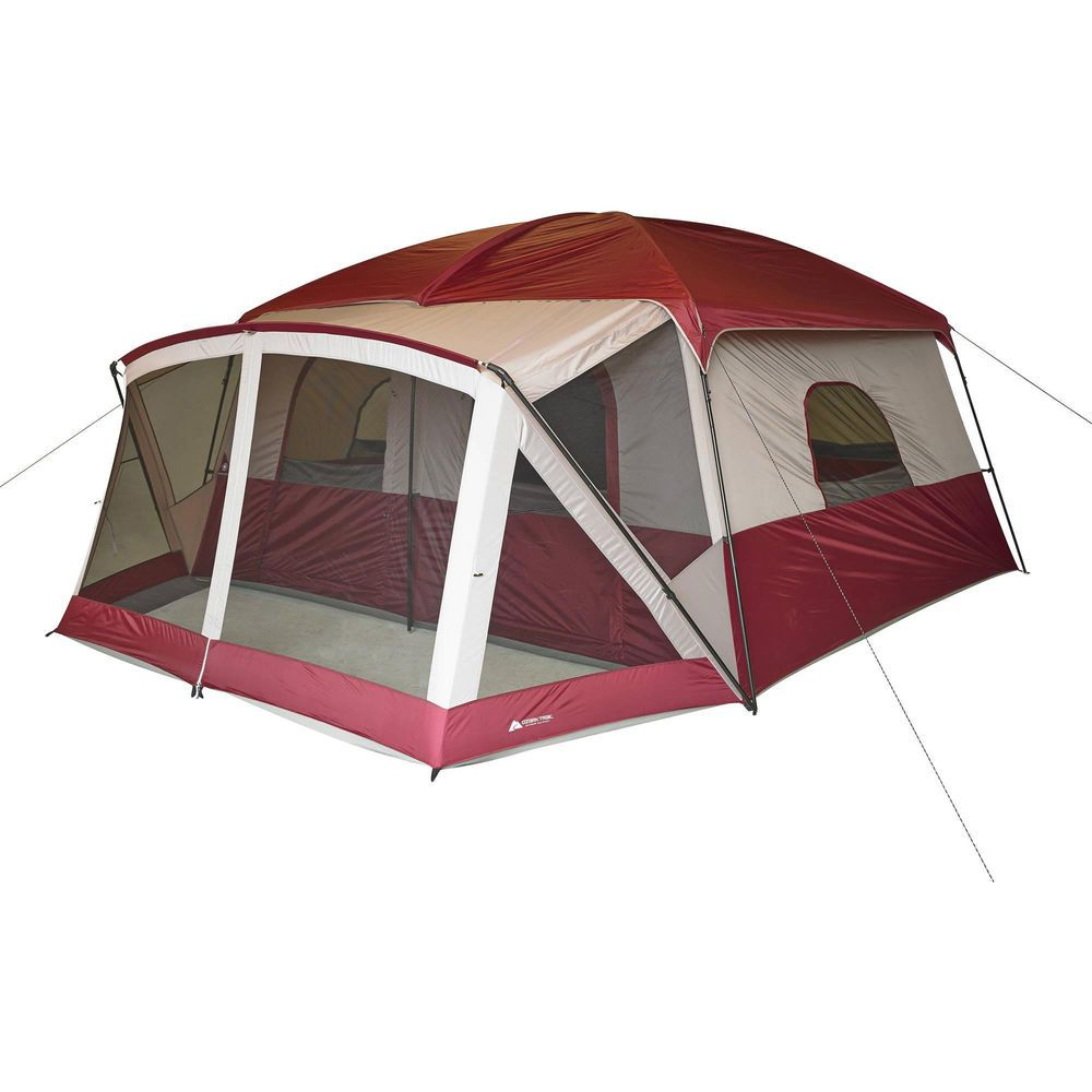 12 Person Cabin Tent With Screen Porch C& Outdoor Family Hiking in proportions 1000 X 1000  sc 1 st  Porches Ideas & Ozark Trail Tent With Front Porch u2022 Porches Ideas