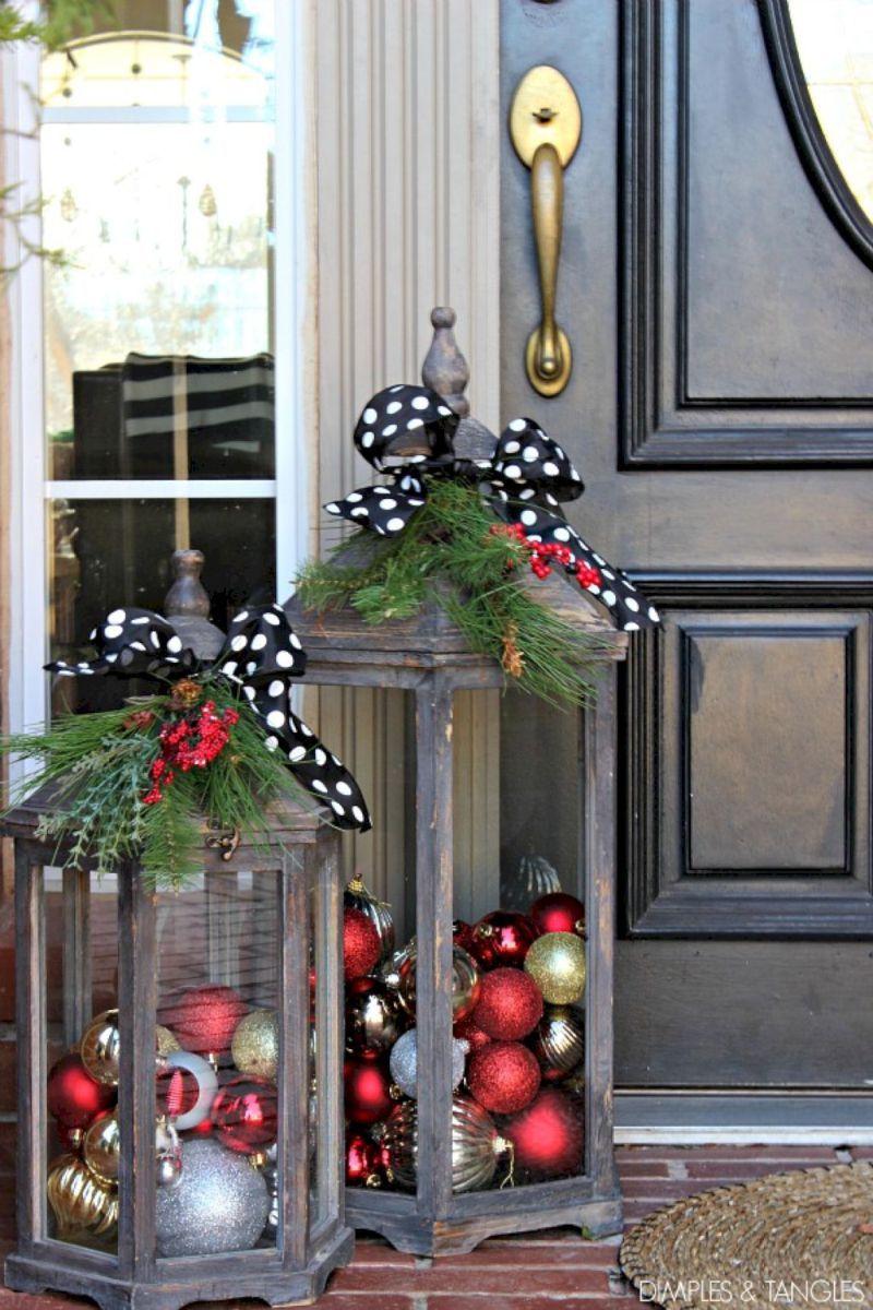 20 Awesome Christmas Front Porch Decor Ideas Front Porches Porch inside size 800 X 1200