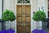 29 Best Front Door Flower Pots Ideas And Designs For 2018 within dimensions 1122 X 1600