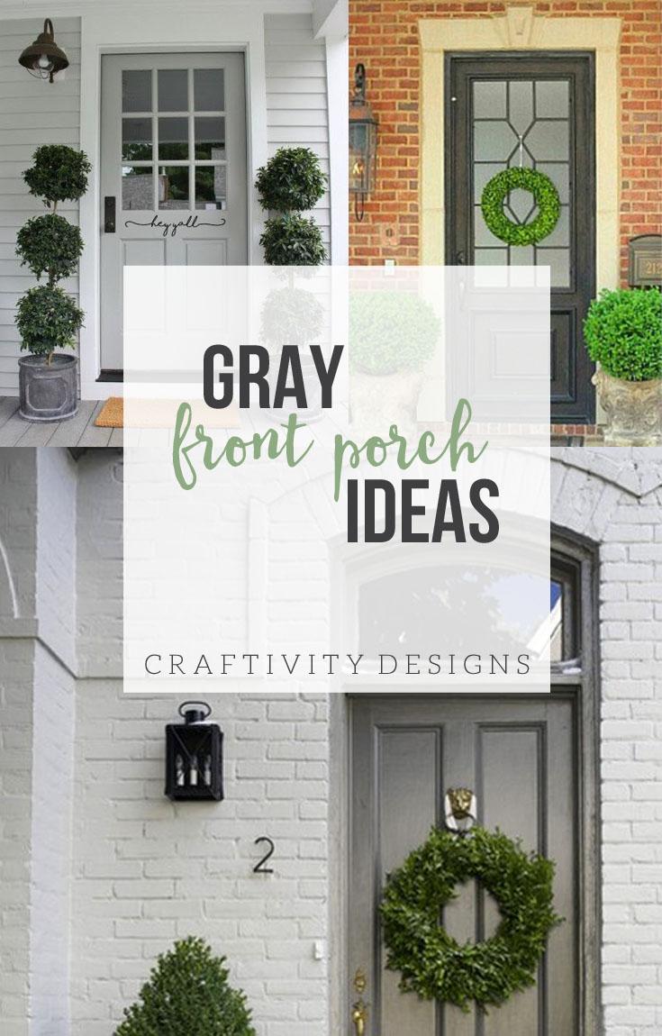 Front Porch Paint Color Ideas • Porches Ideas
