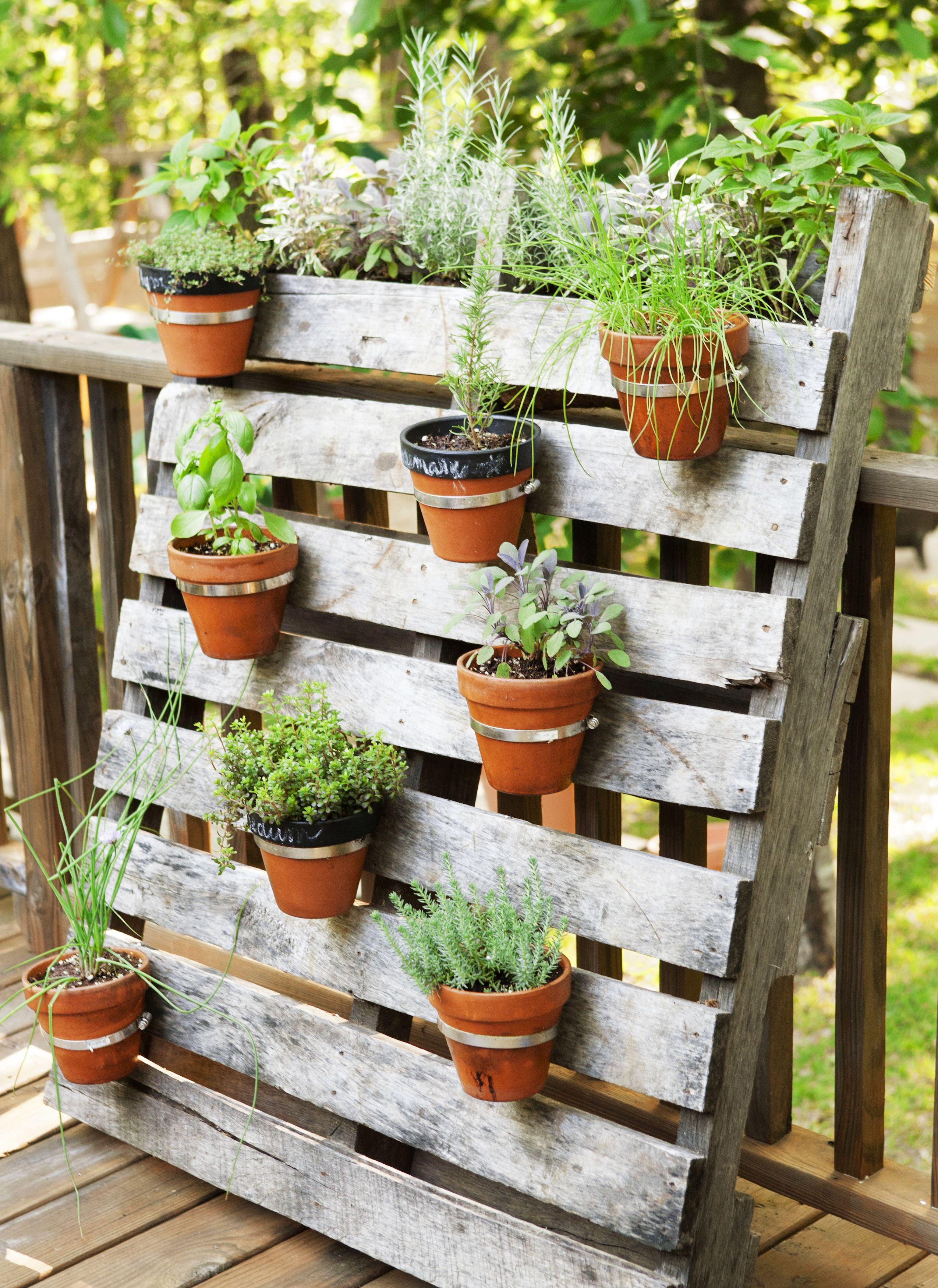 40 Ways To Maximize A Small Garden Pallets Gardens And Garden Ideas regarding size 2549 X 3500