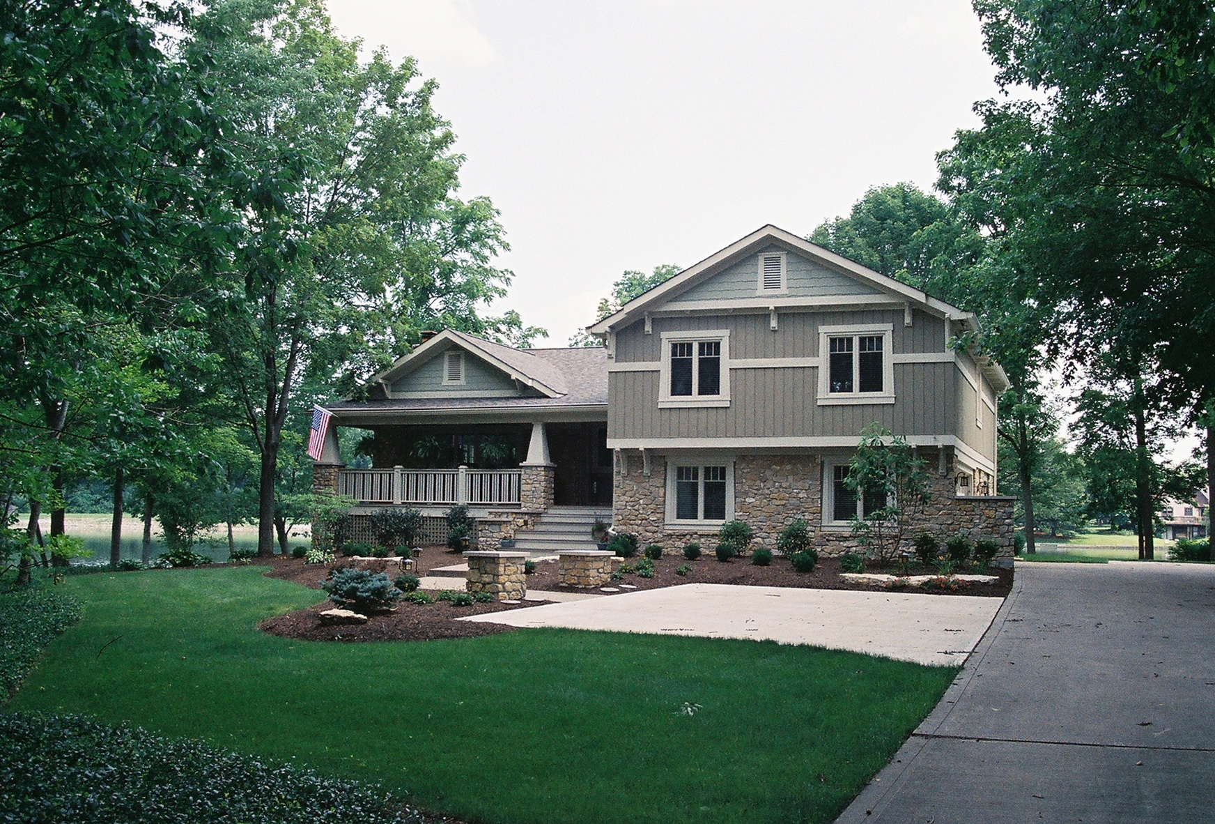 Adding Front Porch To Split Level Home Home Design Ideas within dimensions 1744 X 1182