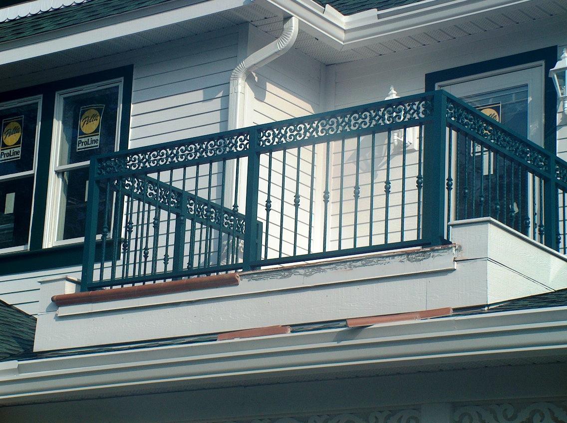 Aluminum Balcony Railing 2 inside size 1136 X 848