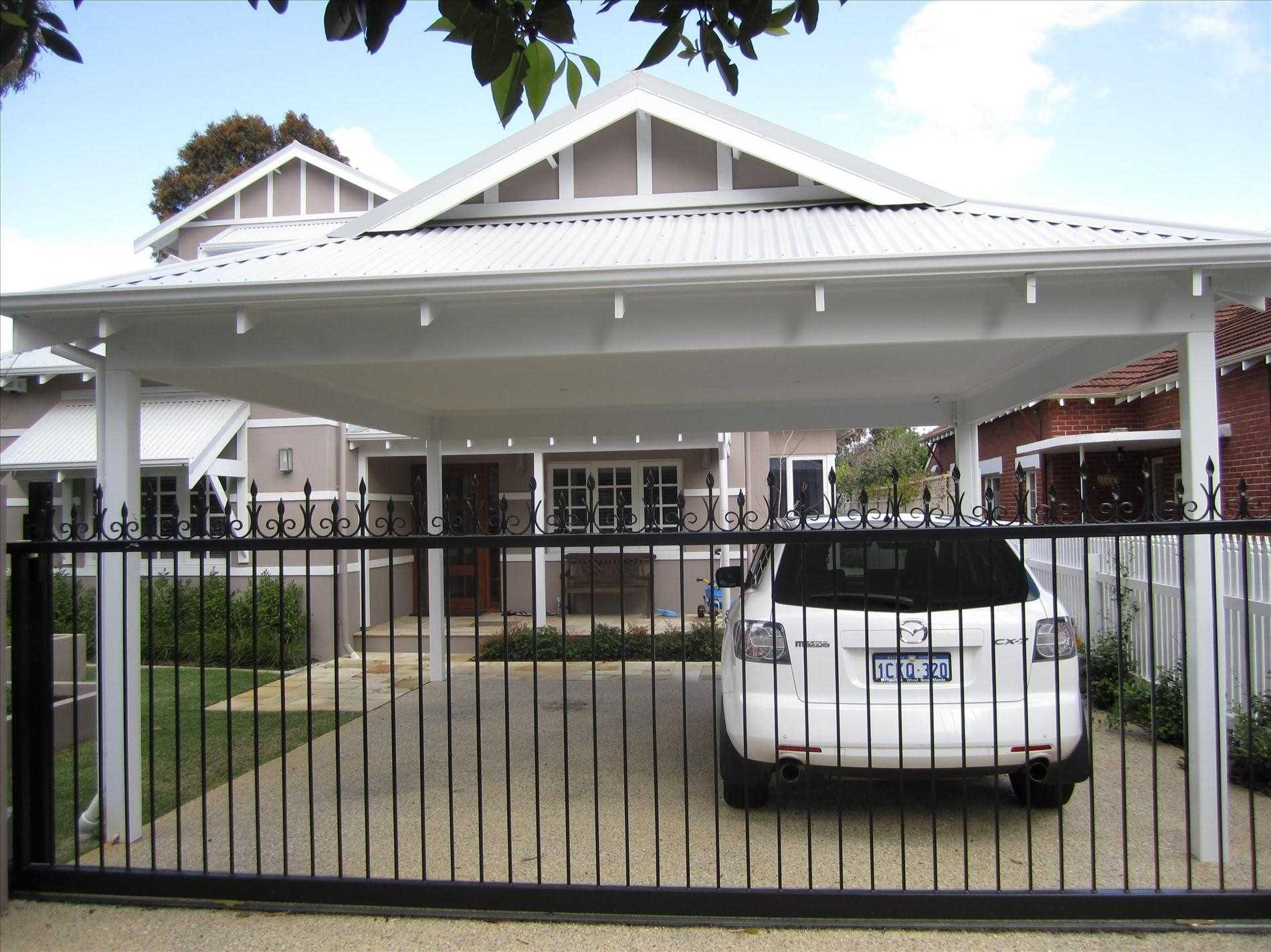 Car Porch Awning Design Porches Ideas