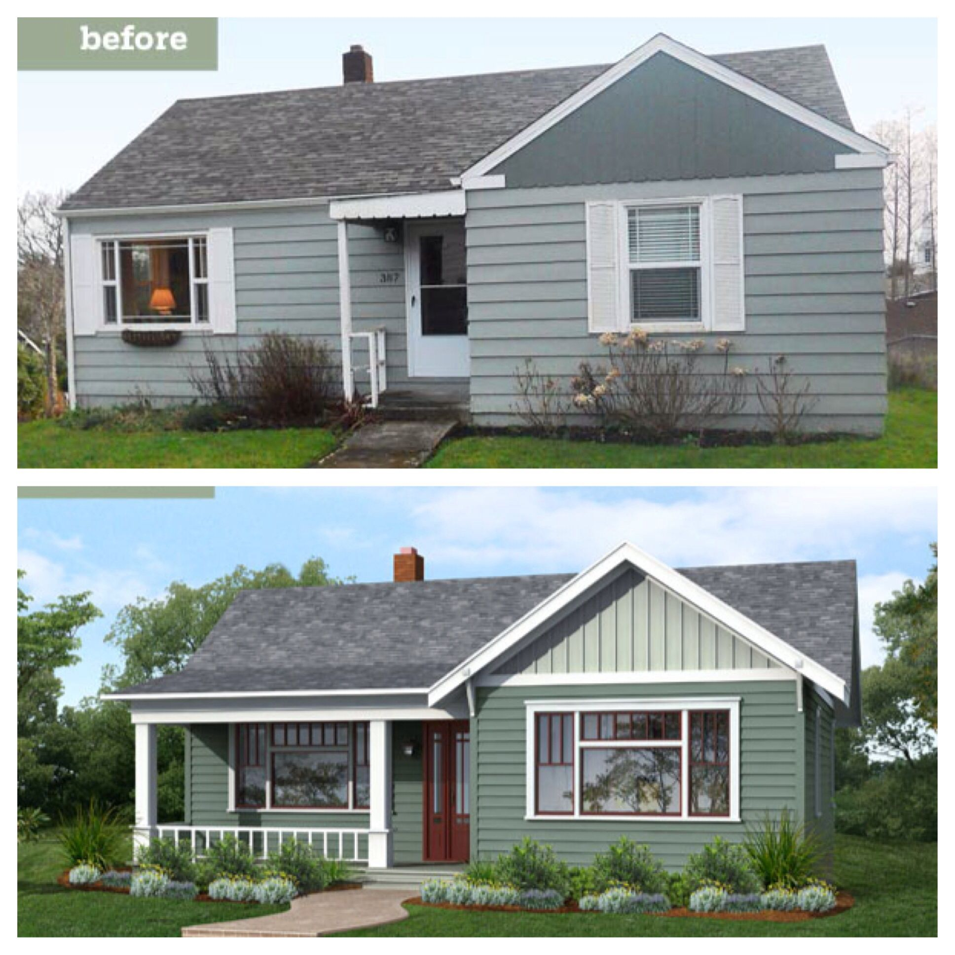 Adding On A Front Porch To A House Porches Ideas