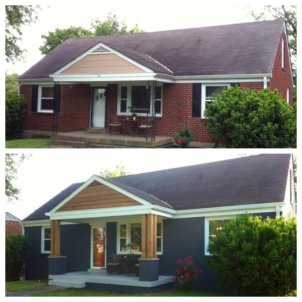 Front Porch Remodel Before And After Porches Ideas