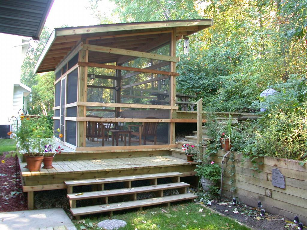 Detached Screened Porch Ideas • Porches Ideas