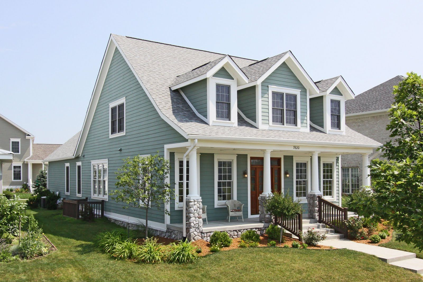 cape cod front porch ideas cape cod with dormers and porch not in love with the stone not as intended for dimensions 1600 x 2708