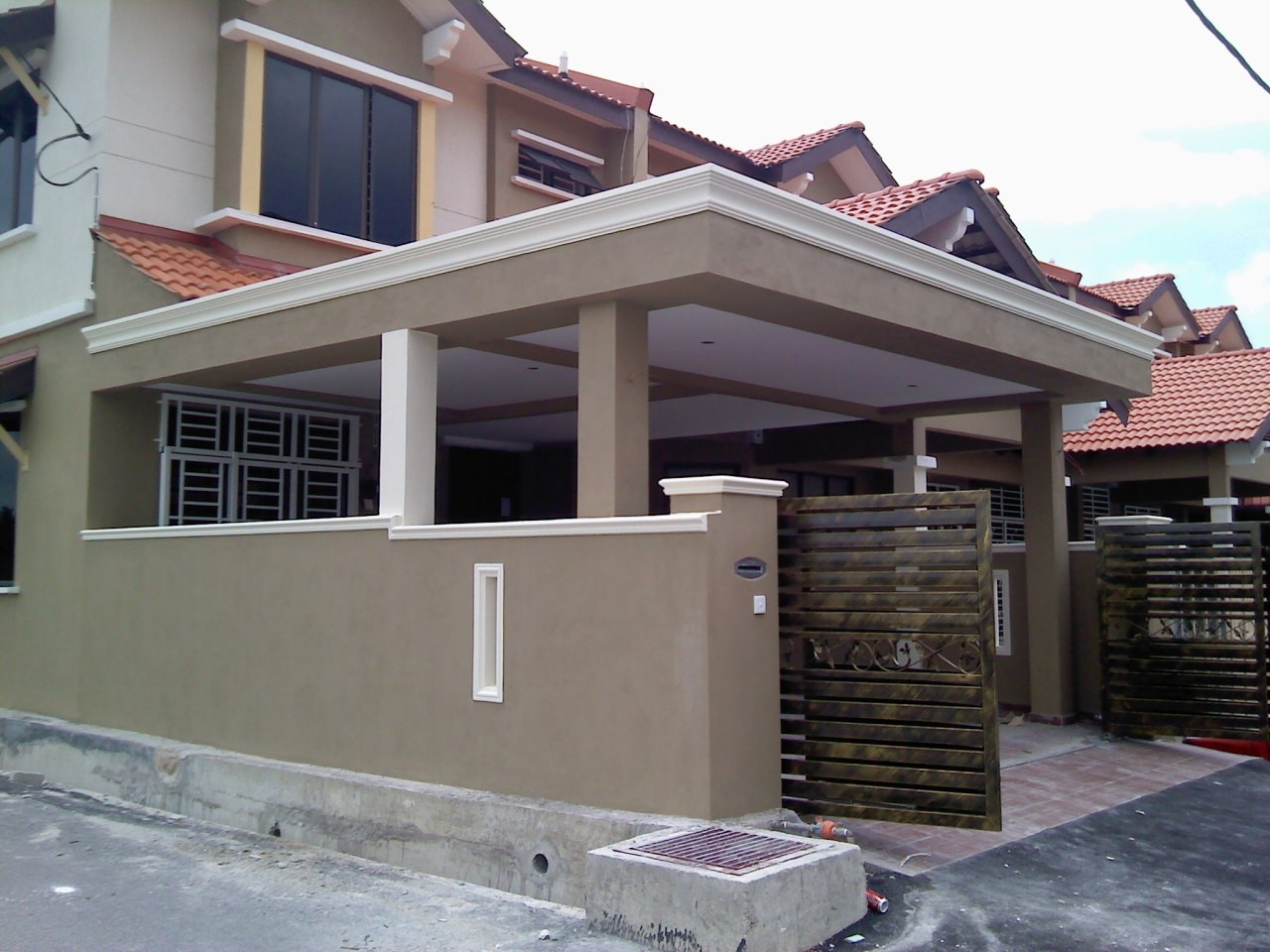 Car Porch Roof Design Malaysia Home Building Plans 32107 Within within sizing 1280 X 960