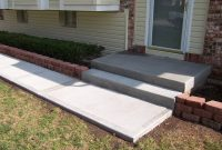 Cement Front Porch Ideas Home Design Ideas inside sizing 2240 X 1687