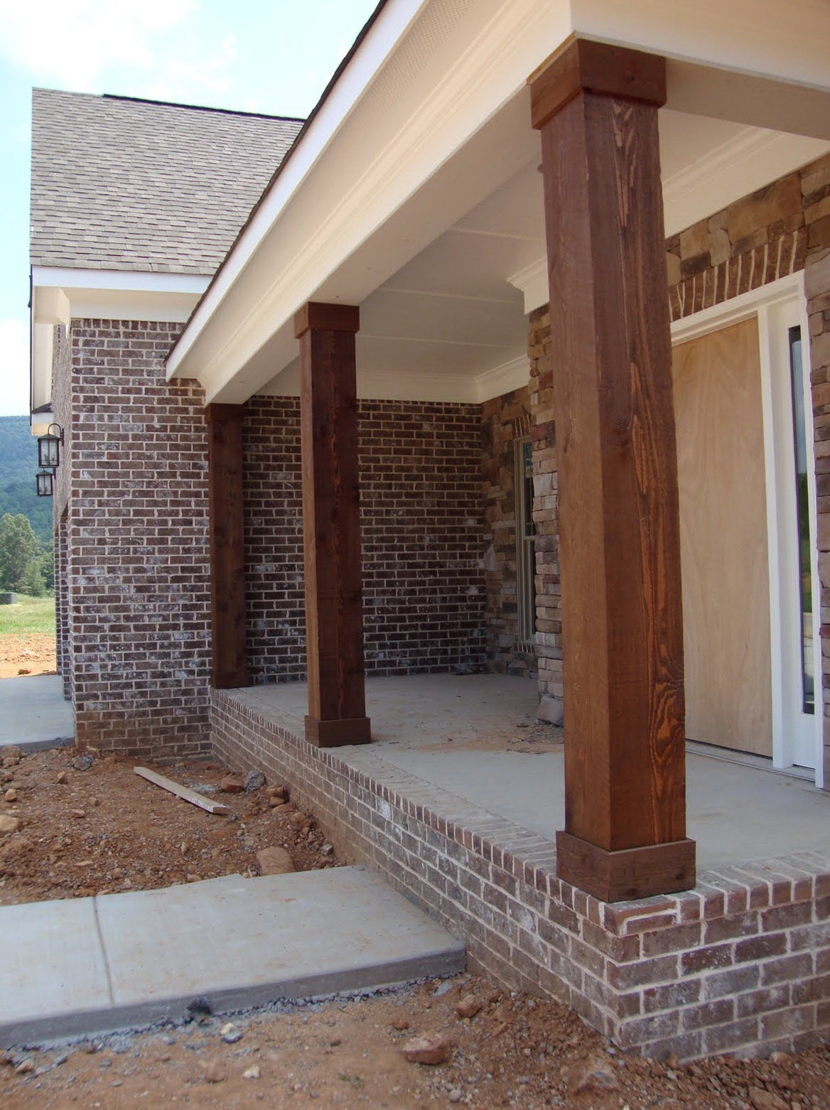 porch column wraps. Column Wraps For Front Porch Pertaining To Proportions 1168 X 1562 C