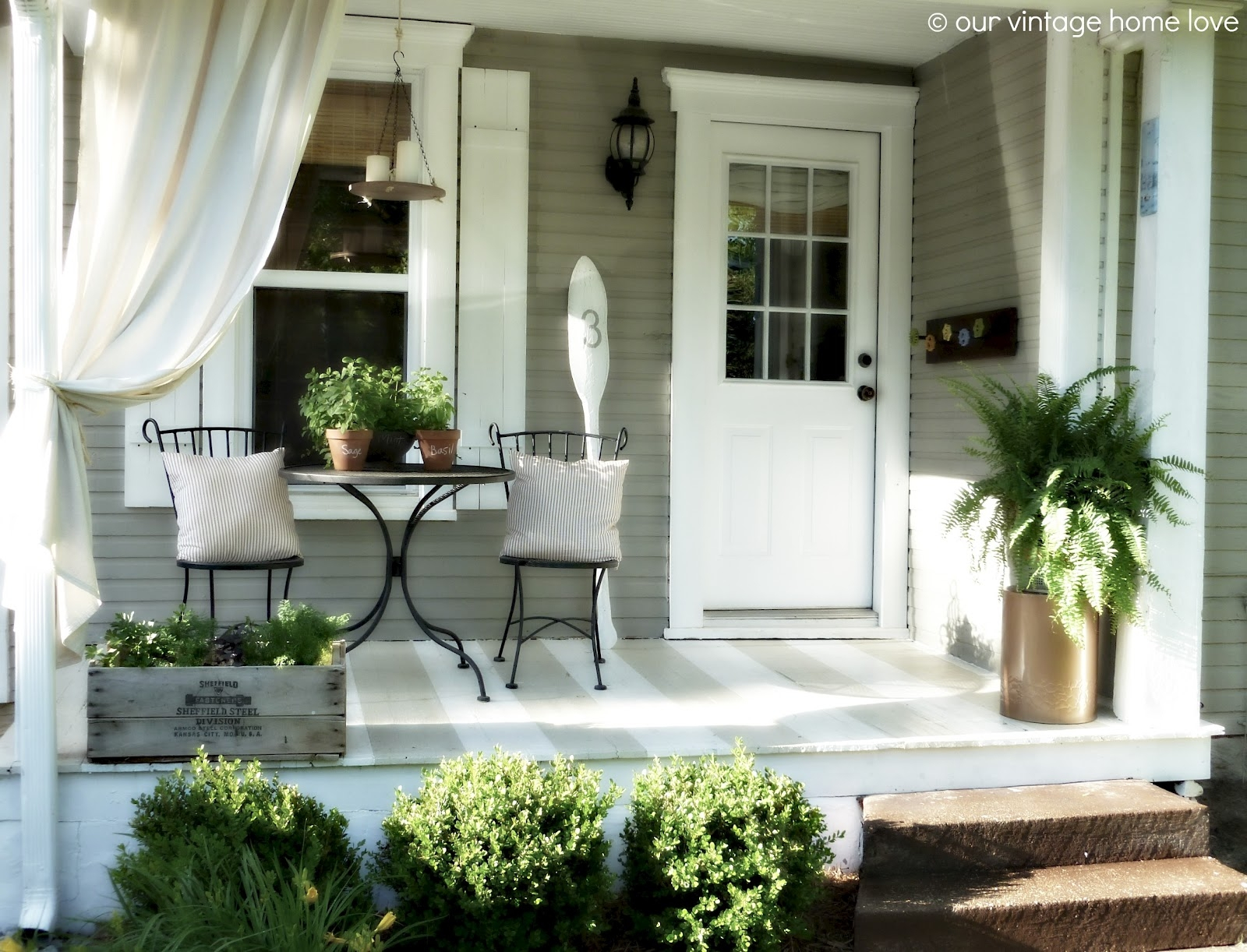 Contemporary Front Porch Decorating Ideas • Porches Ideas