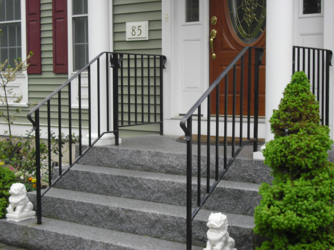 Custom Iron Railings Wrought Iron Railings Mill City Iron with regard to measurements 1138 X 854