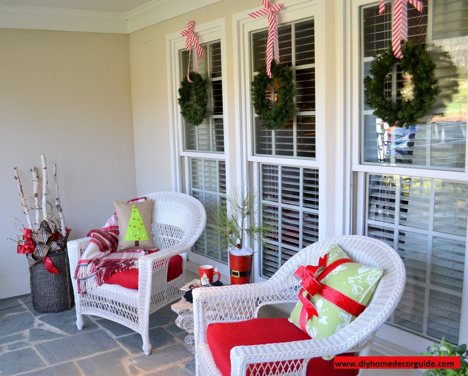 diy outdoor christmas decorations ideas homes alternative 23686 with measurements 1600 x 1285