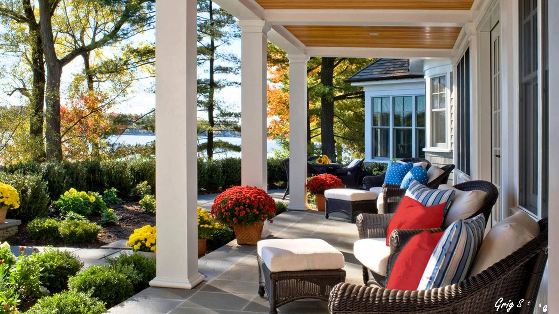 Dreamy Back Porch Ideas Traditional Rear Porch Ideas in sizing 1920 X 1080