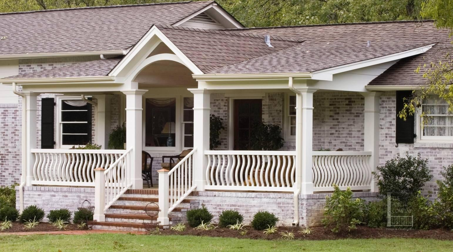 Front Porches On Ranch Style Homes • Porches Ideas