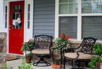 Exterior Awesome Front Porch Decorating Ideas Elegant Small Fall for sizing 1024 X 768