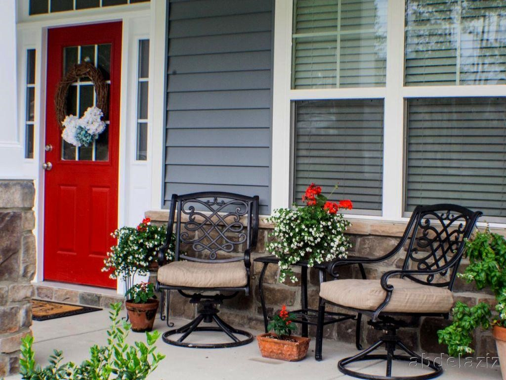 Front Porch Furniture Ideas Porches Ideas