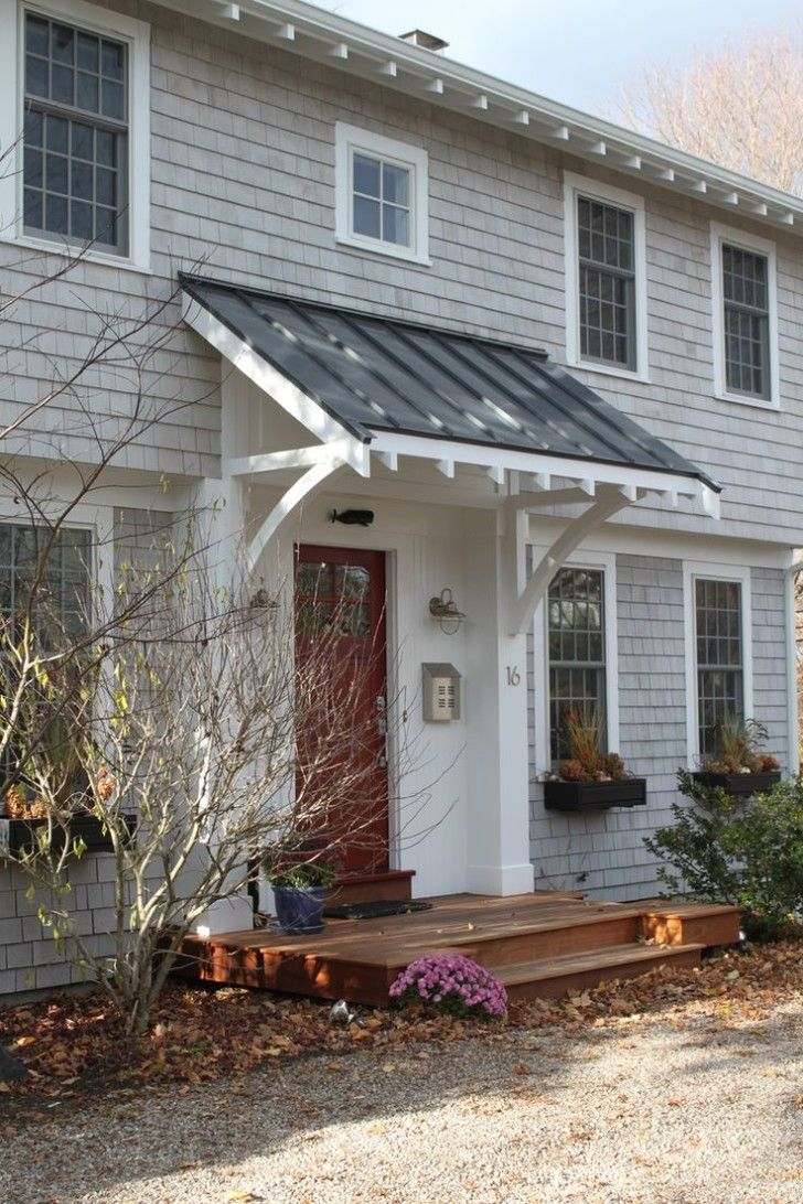 Front Porch Awnings For Home Porches