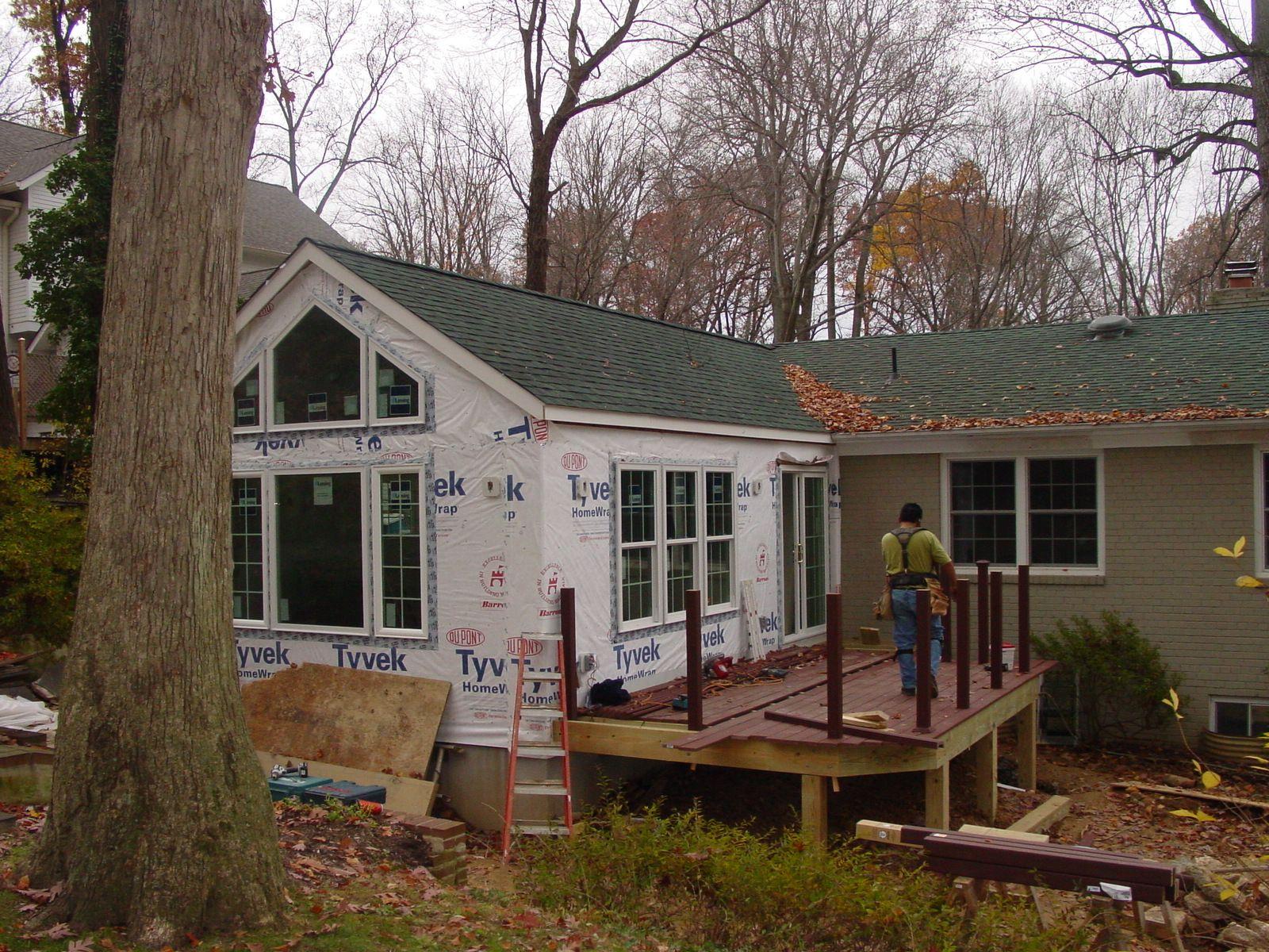 add front porch to rambler porches ideas