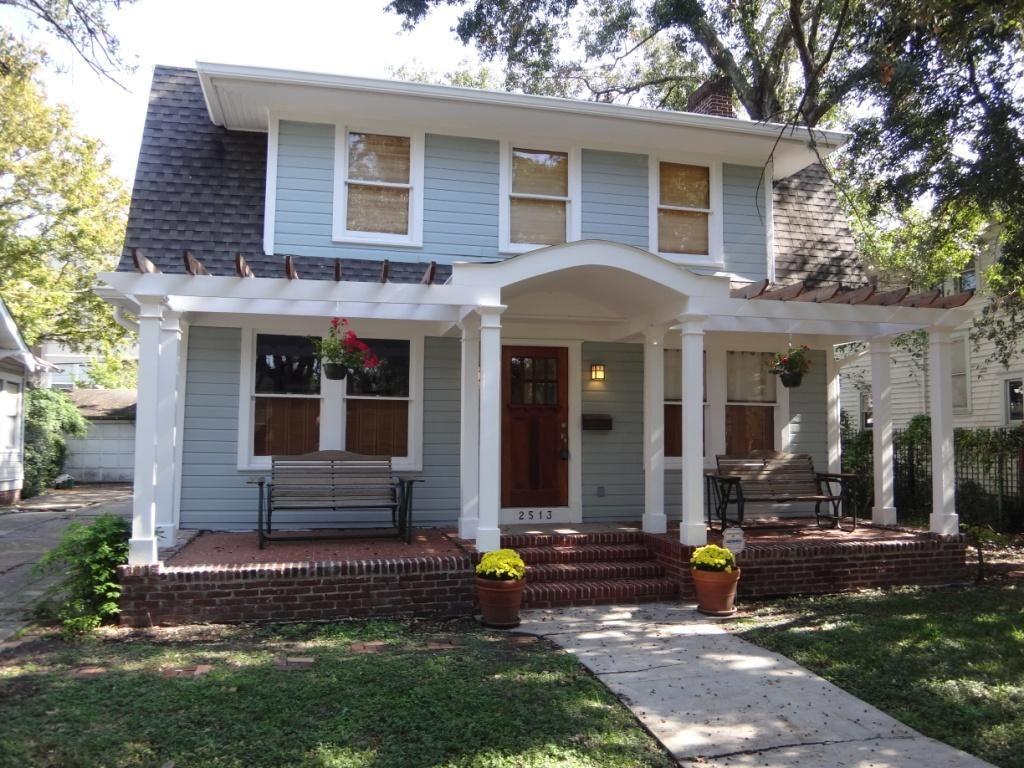 Front Porch Ideas Colonial Homes • Porches Ideas