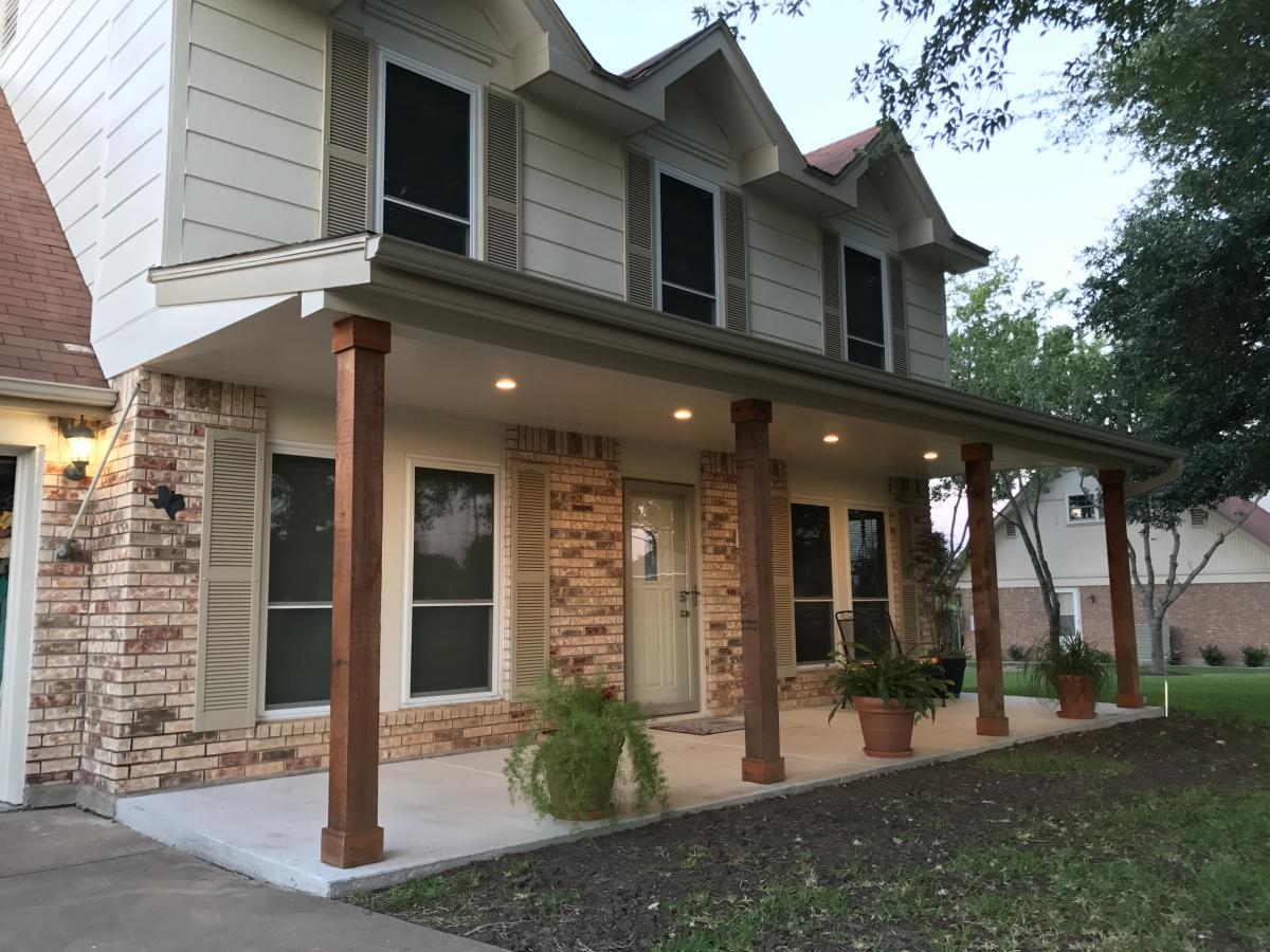 Front Porch Recessed Lights • Porches Ideas