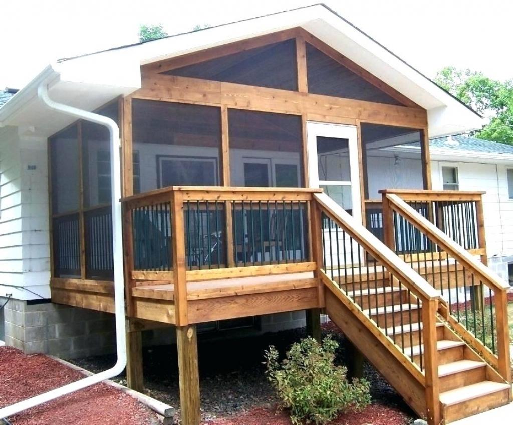 Front Porch Ideas Deck Porches