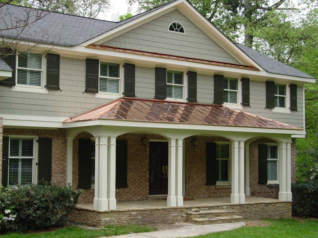 Front Porch Ideas For Colonial Homes