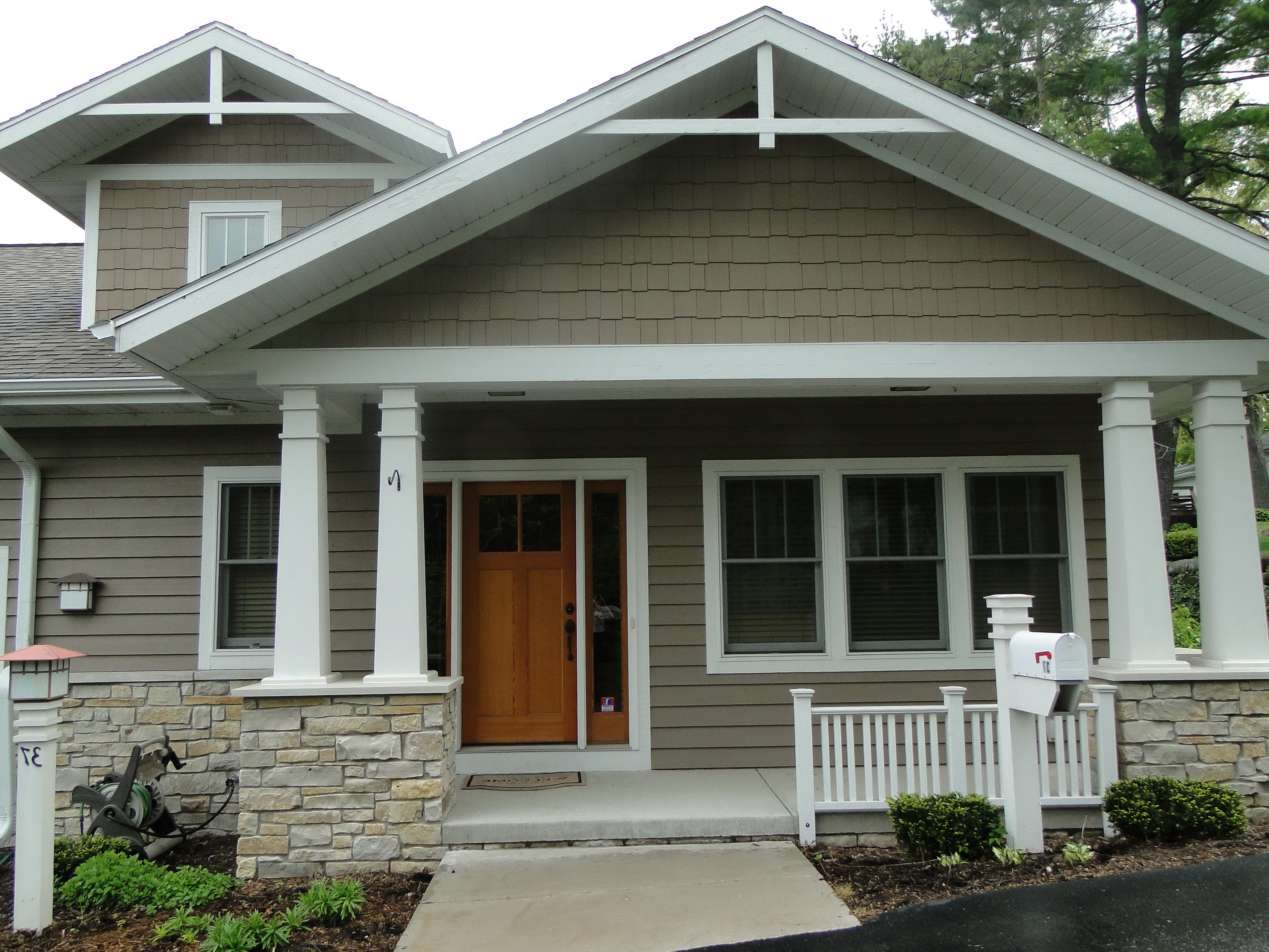 Add Front Porch To Raised Ranch