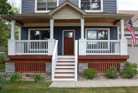 Front Porch Railings Ideas Patio Railing Decks Columns Intended For for sizing 2823 X 1882