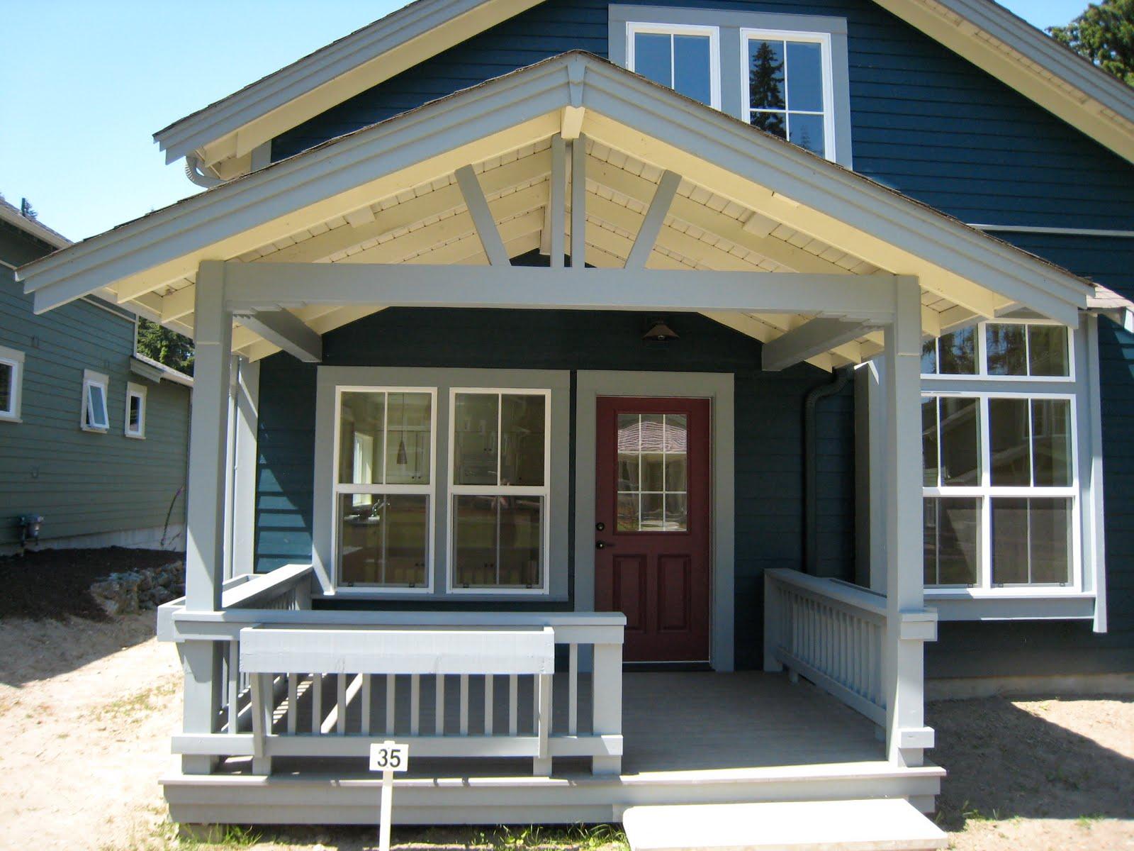 Simple Front Porch Roof Designs Porches Ideas