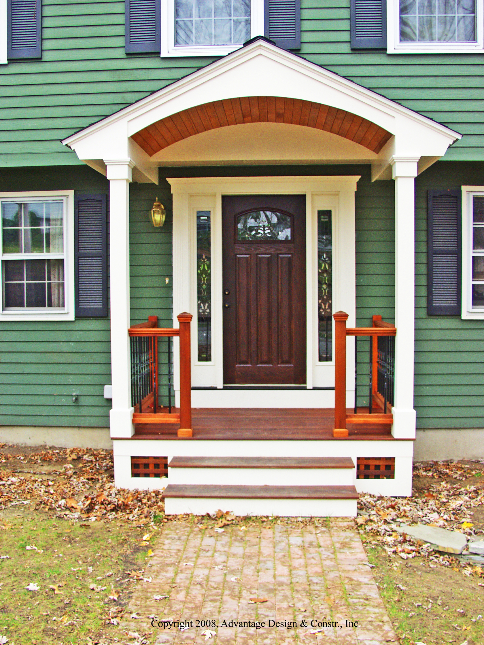 Small Front Porch Roof Designs Porches Ideas