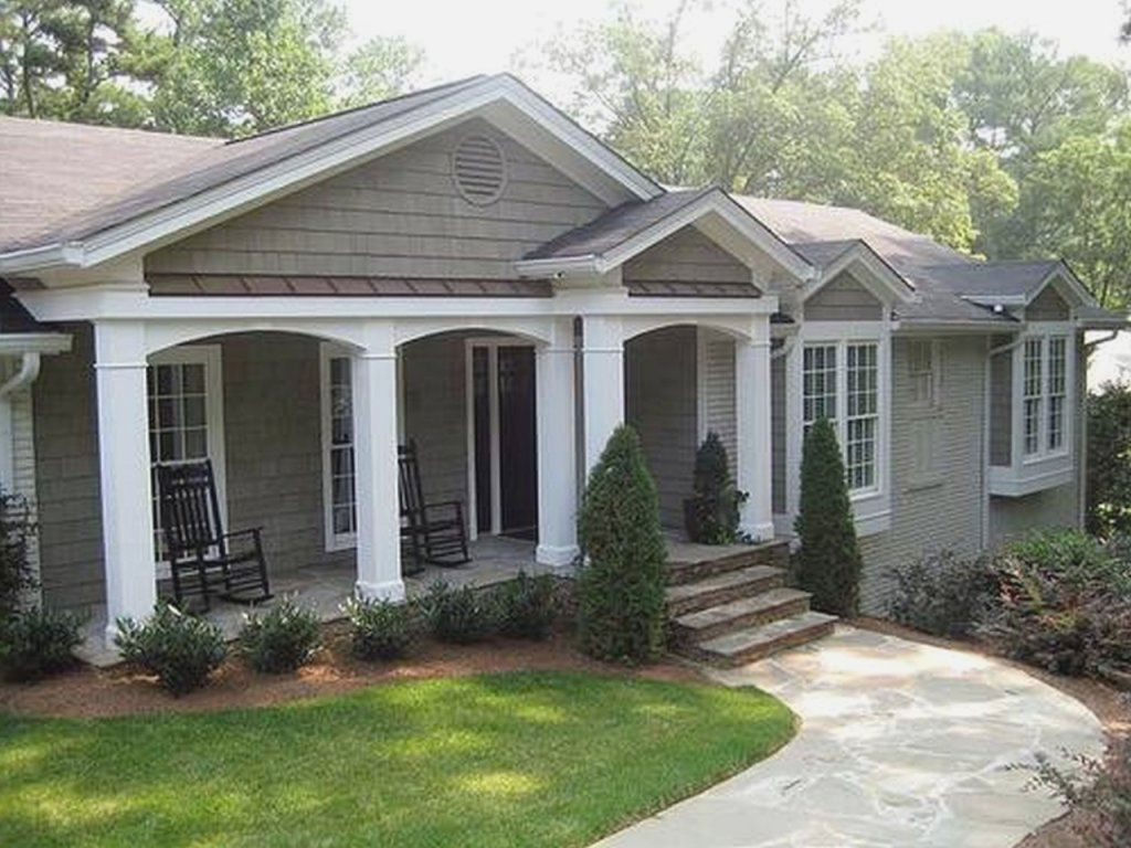 Front Porches For Ranch Style Homes Modern Home Design Porches In Sizing  1024 X 768