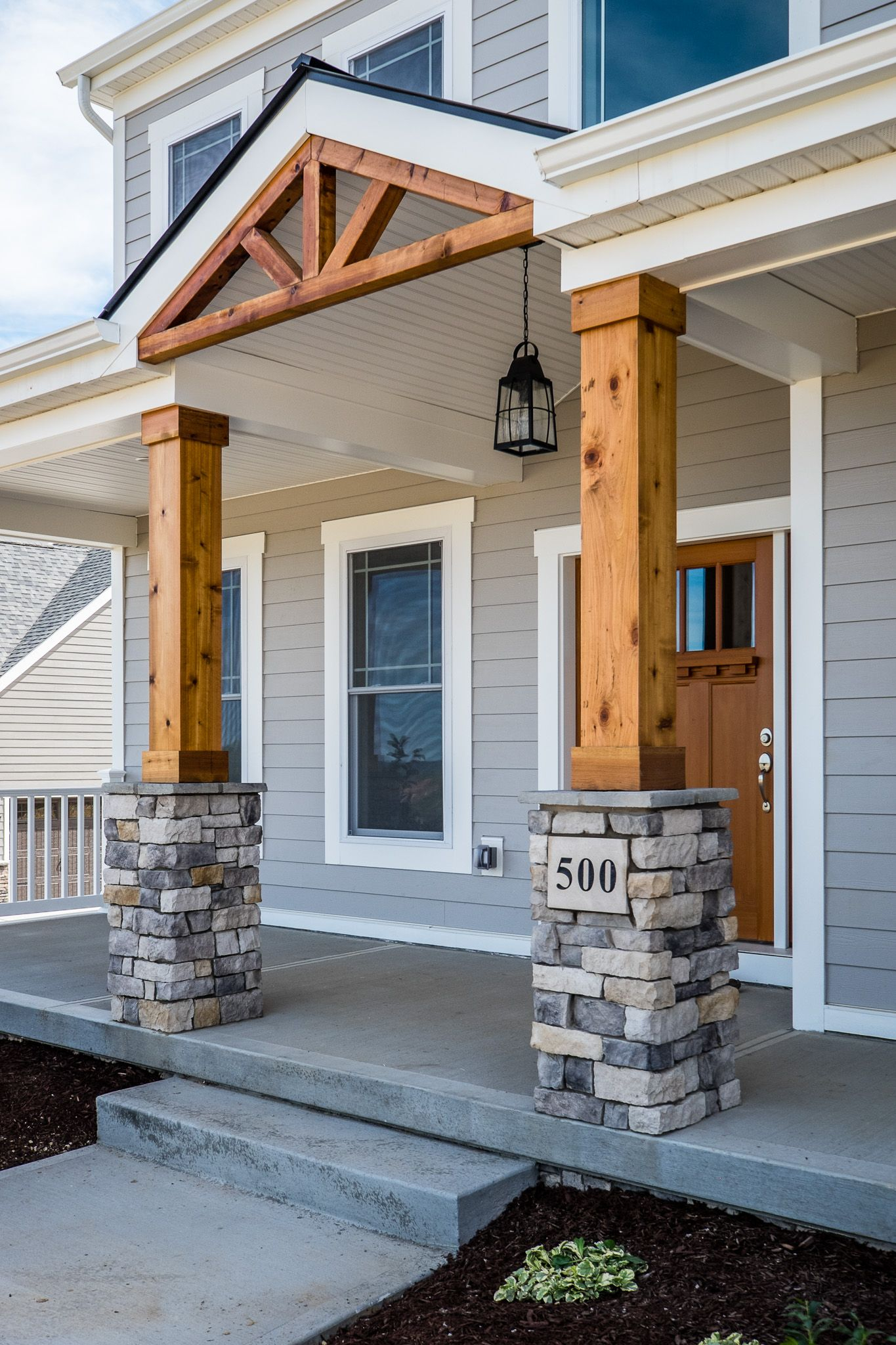 Exterior Porch Column Designs Porches Ideas