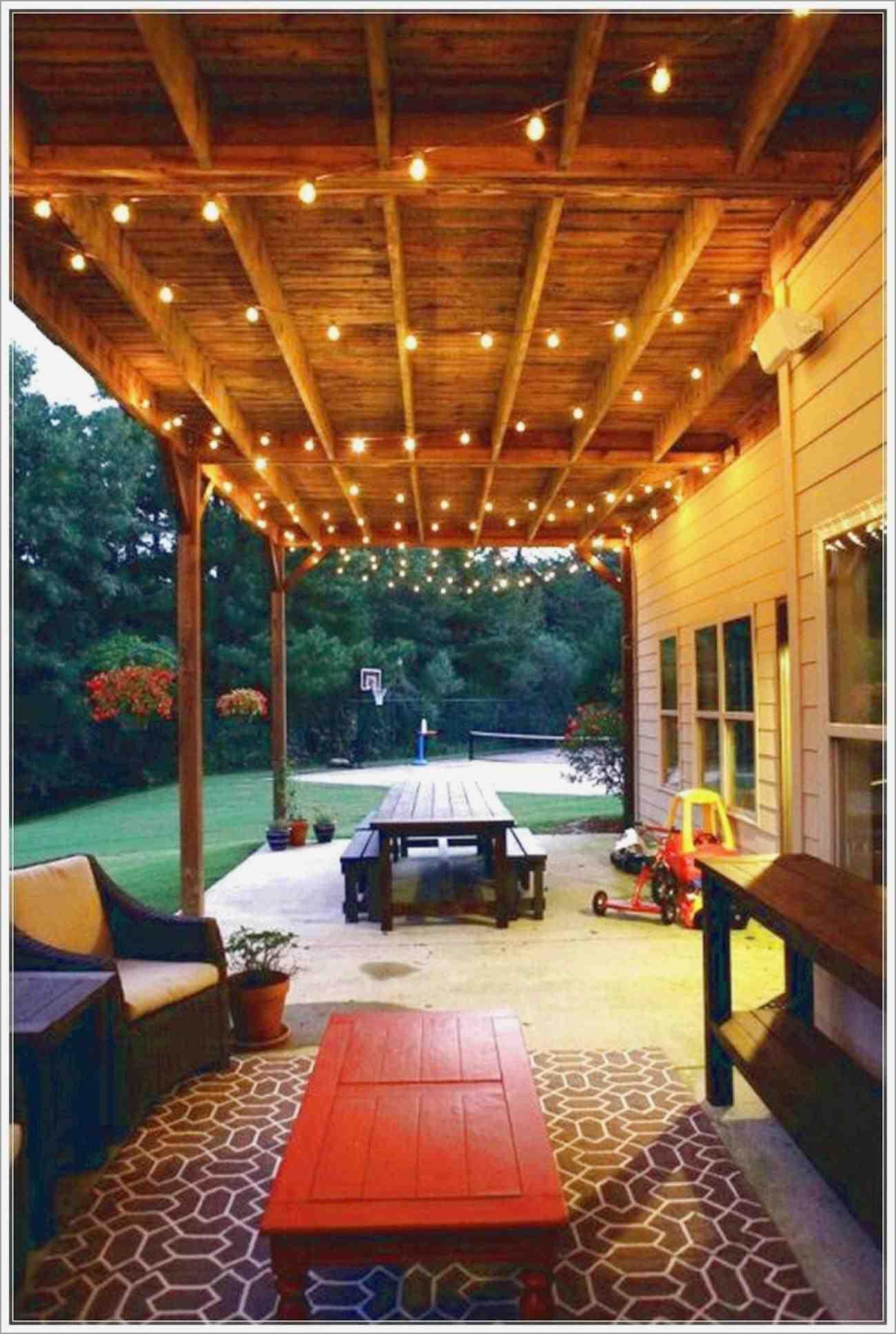 Lighting Ideas For Back Porch Porches Ideas