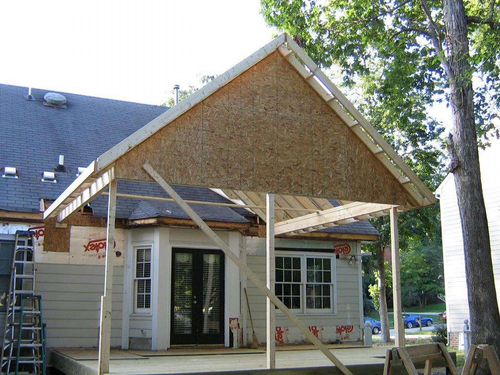 ideas porch roof framing parsito intended for sizing 1024 x 768 - Porch Roof Framing