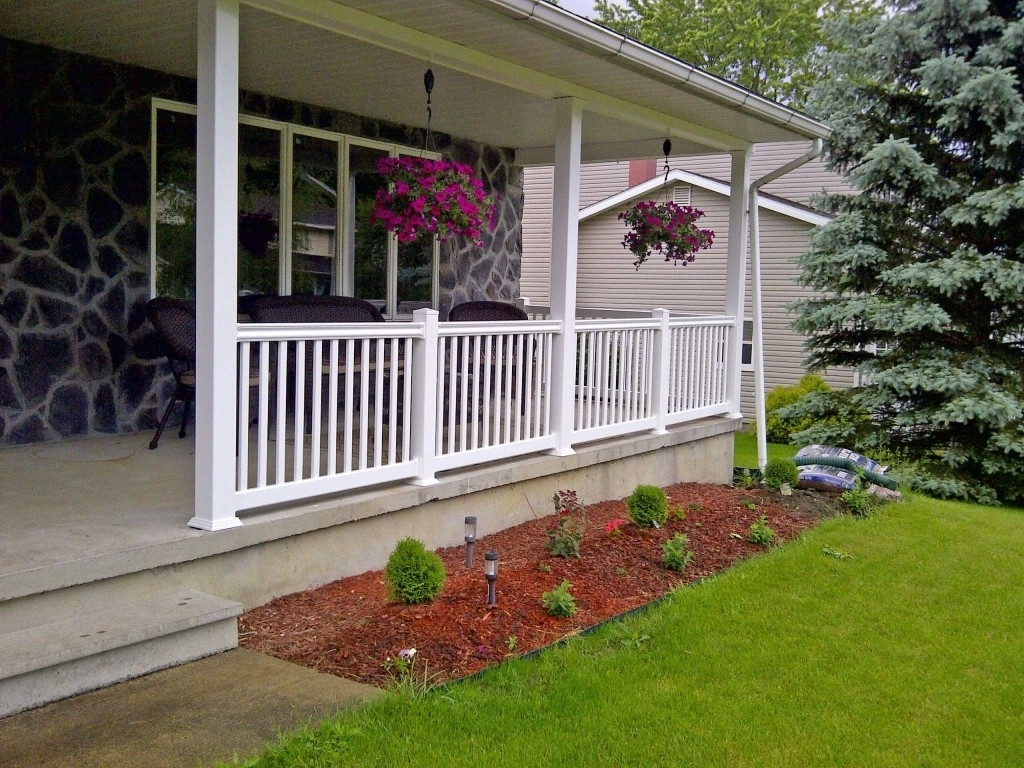 Nice Front Porch Railing Kit Monmouth Blues Home with ...