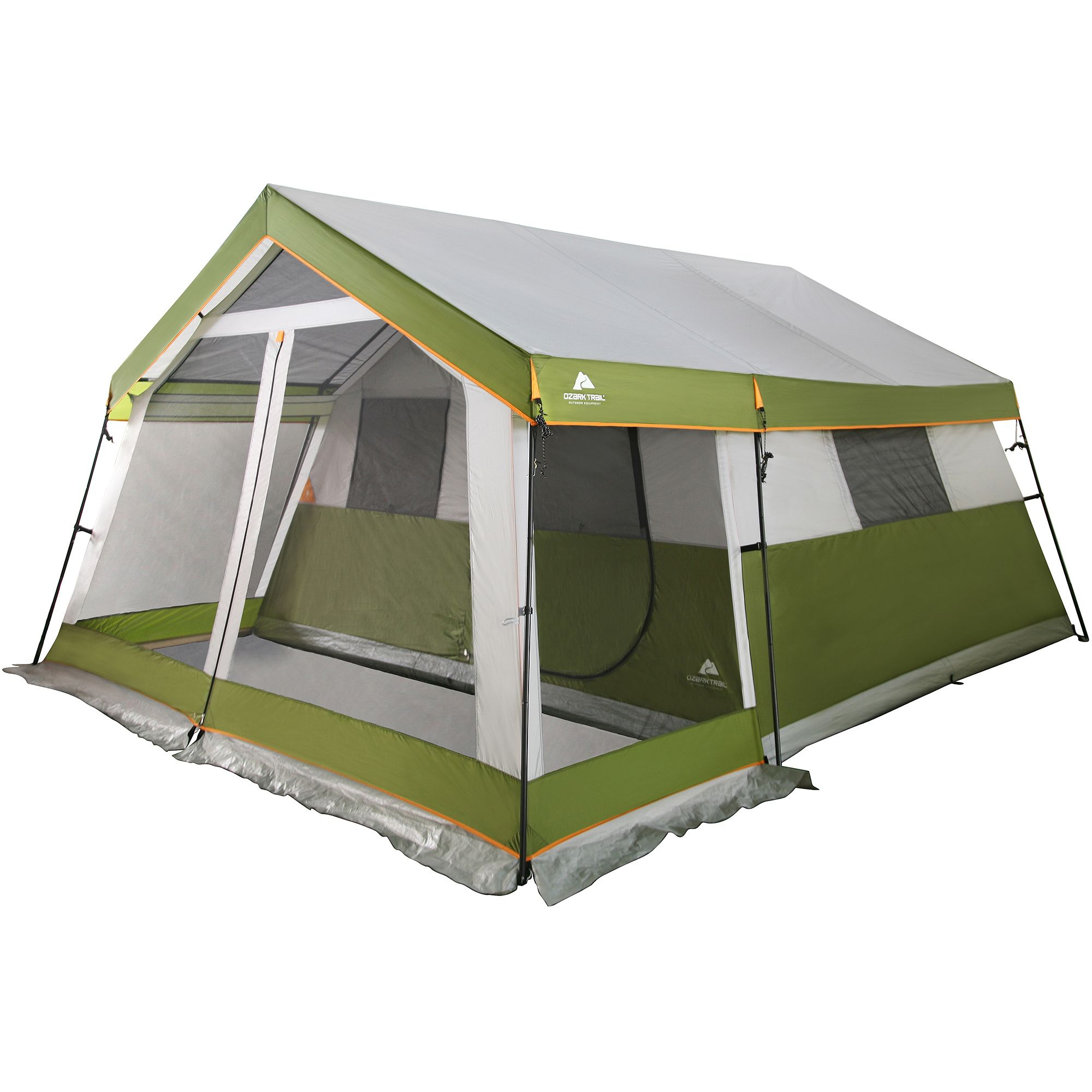 Ozark Trail 8 Person Family Cabin Tent With Screen Porch Walmart within sizing 2000 X 2000  sc 1 st  Porches Ideas & Tents With A Front Porch u2022 Porches Ideas