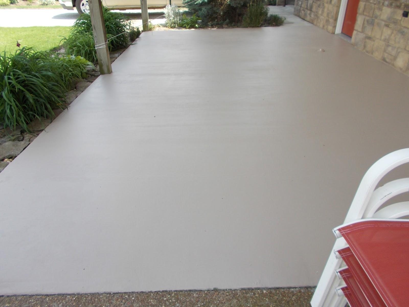 Exterior Concrete Porch Paint Ideas