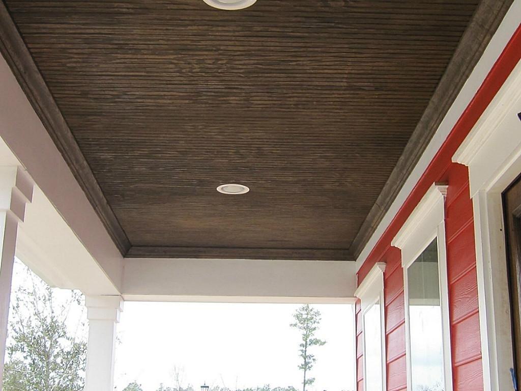 Car Porch Ceiling Design Ideas Porches Ideas