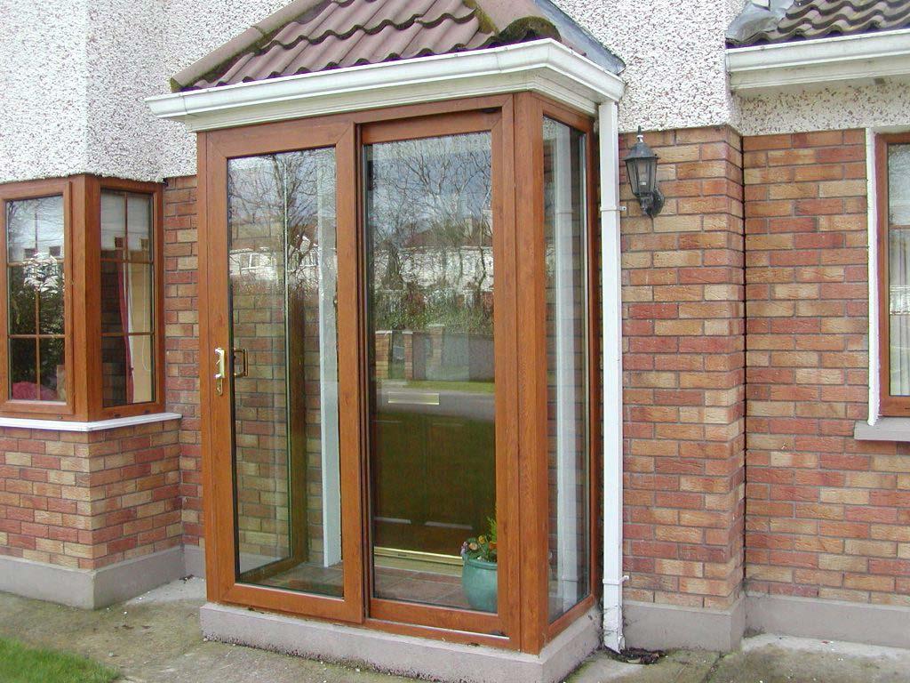Sliding Front Door Porch Porches Ideas