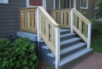 Porch Stair Railing Ideas Wood Railing For Concrete Porch Bathroom within dimensions 1600 X 1200