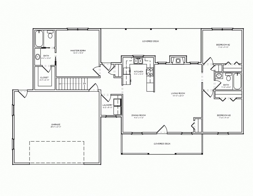 Ranch Style Home Plans With Wrap Around Porch Luxury E Story House for sizing 1024 X 792