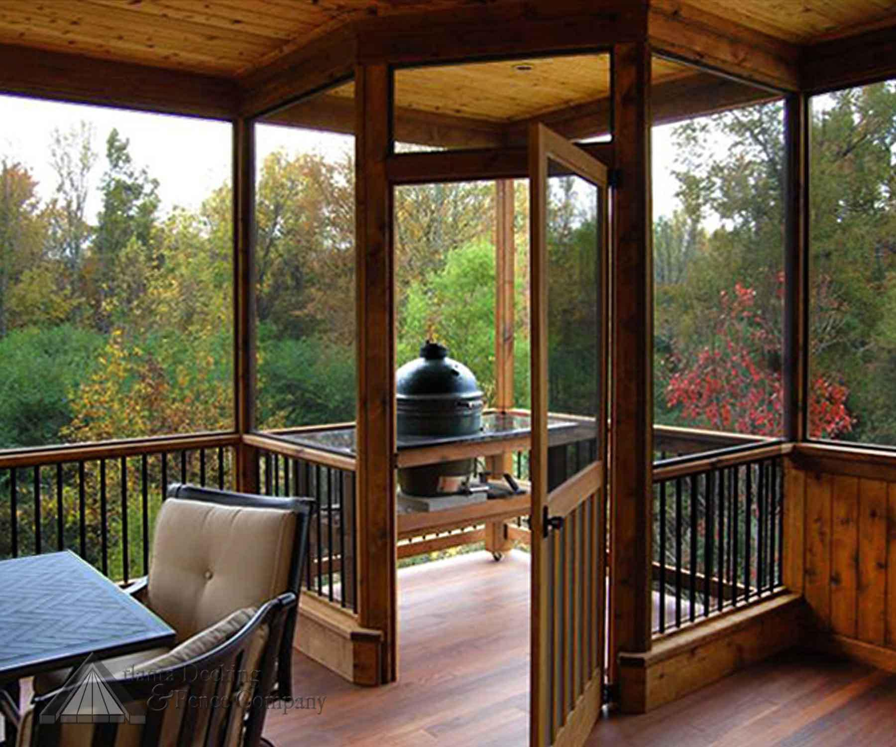Remarkable Screened In Porch Ideas With Deck Images