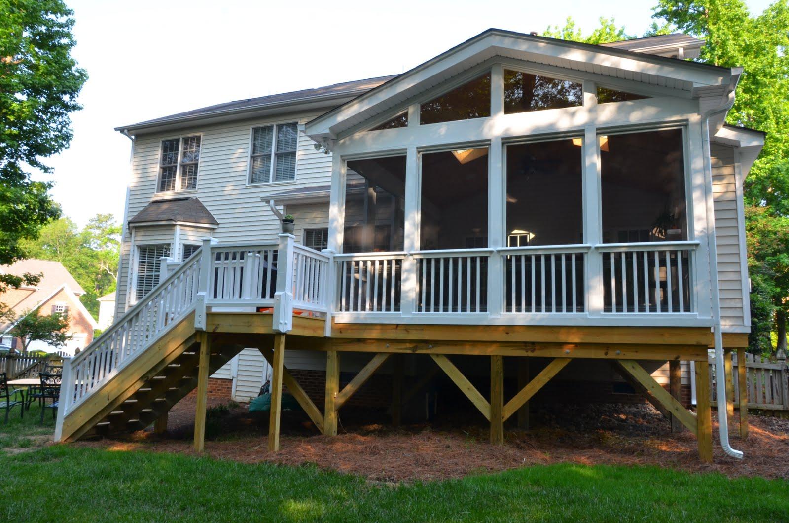 Detached Screened Porch Plans Porches Ideas