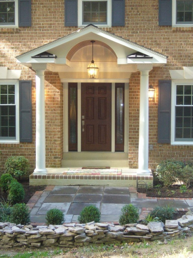Rock Front Porch Ideas For Small Houses Edoctorradio ...