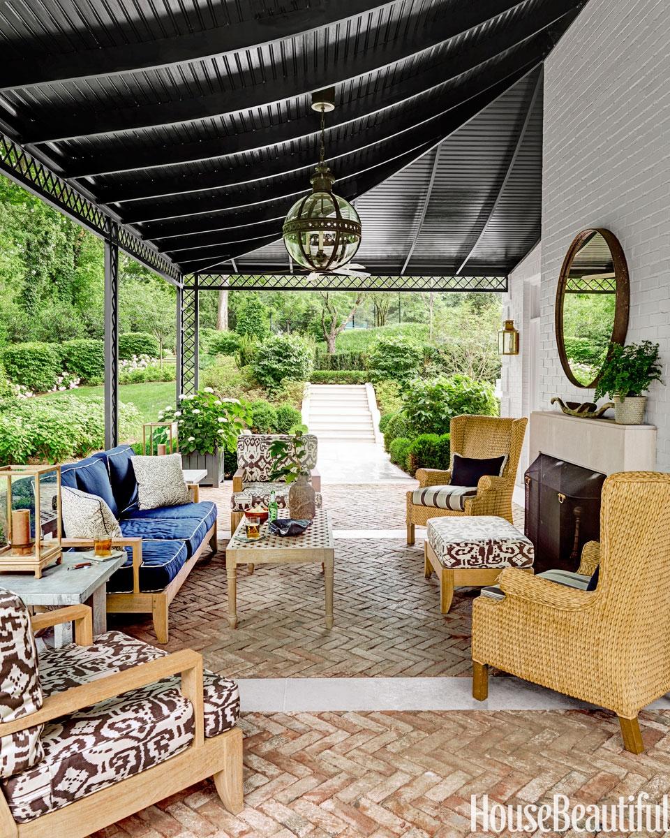 Screen Porch Ceiling Colors Porches Ideas
