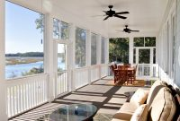 Screen Porch Ceiling Fans In Porches Traditional With Area Rug Fan intended for dimensions 990 X 802