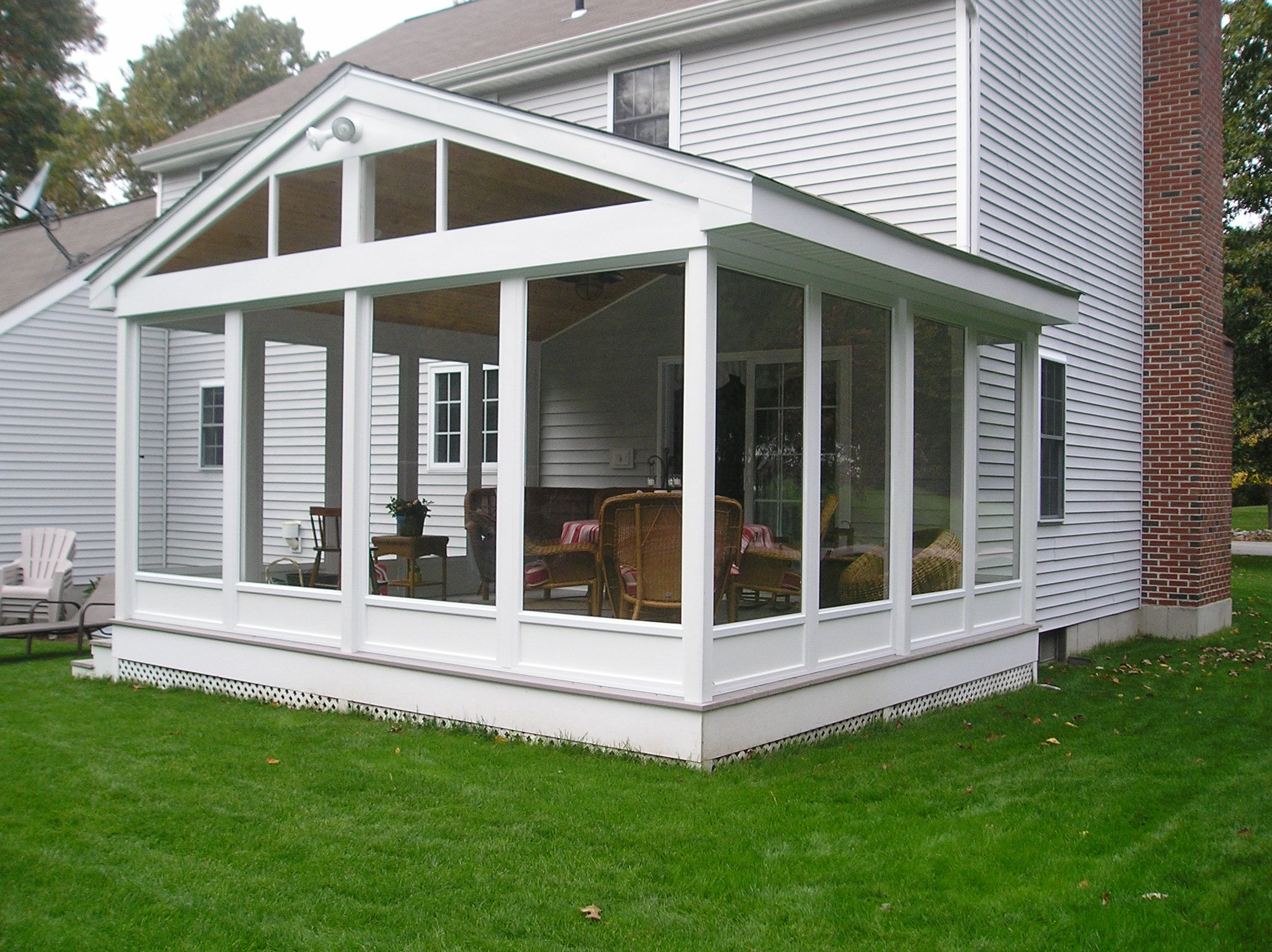 Screen Porch Enclosures Enjoy A Screen Porch Year Round ... on Outdoor Patio Enclosure Ideas  id=80934