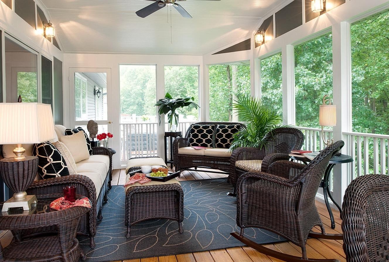 Ideas For Small Screened In Porches • Porches Ideas